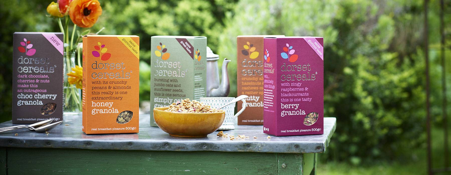 our granola's had a little makeover