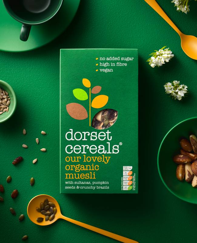 our lovely organic muesli