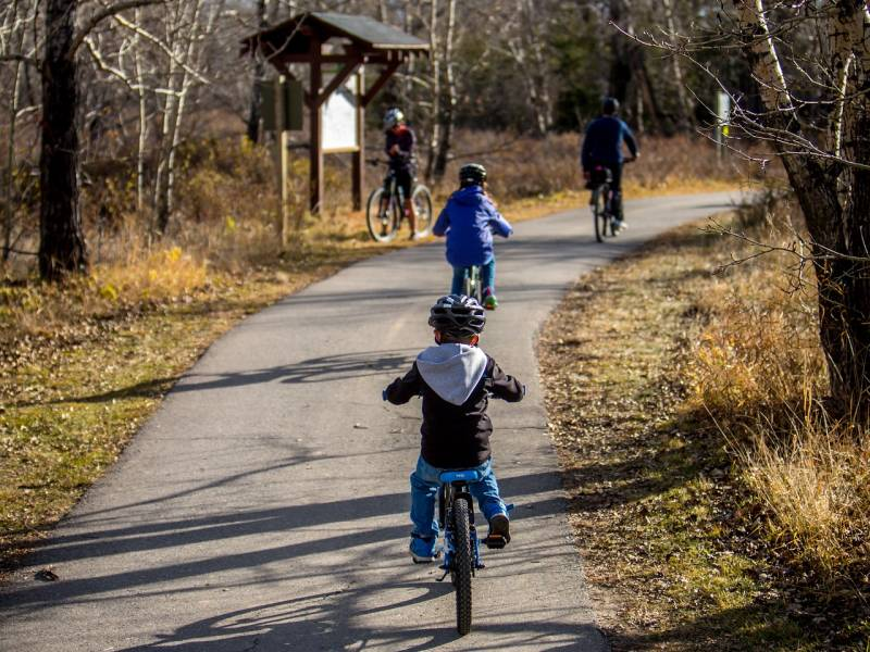 easy riders: the best family-friendly bike adventures around the UK