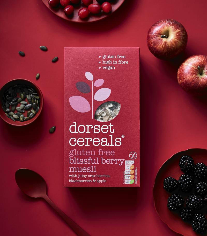blissful berry muesli