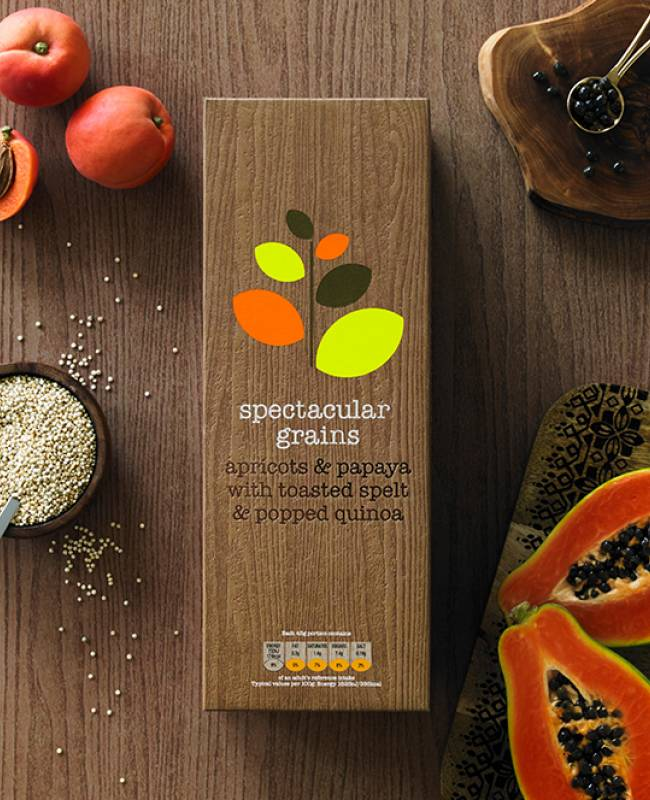 spectacular grains – apricots & papaya