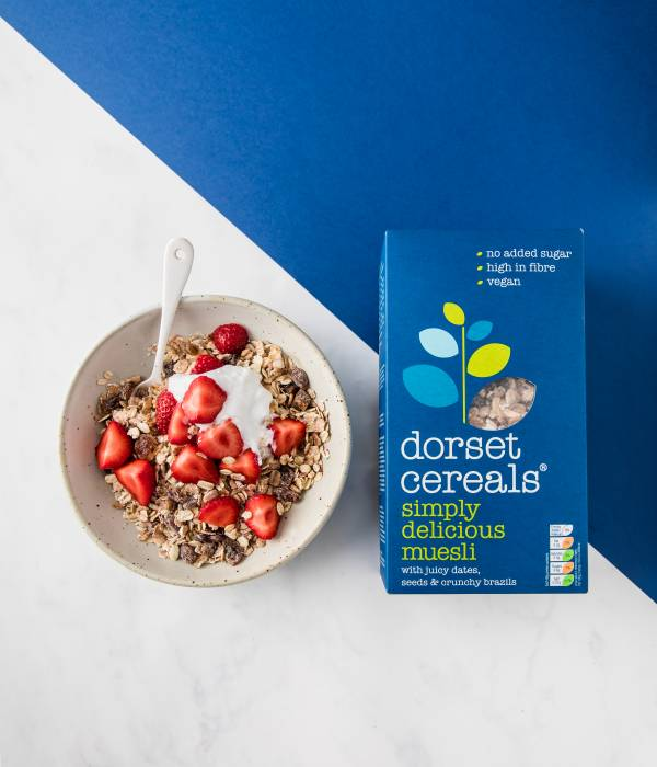 Simply Delicious muesli bowl