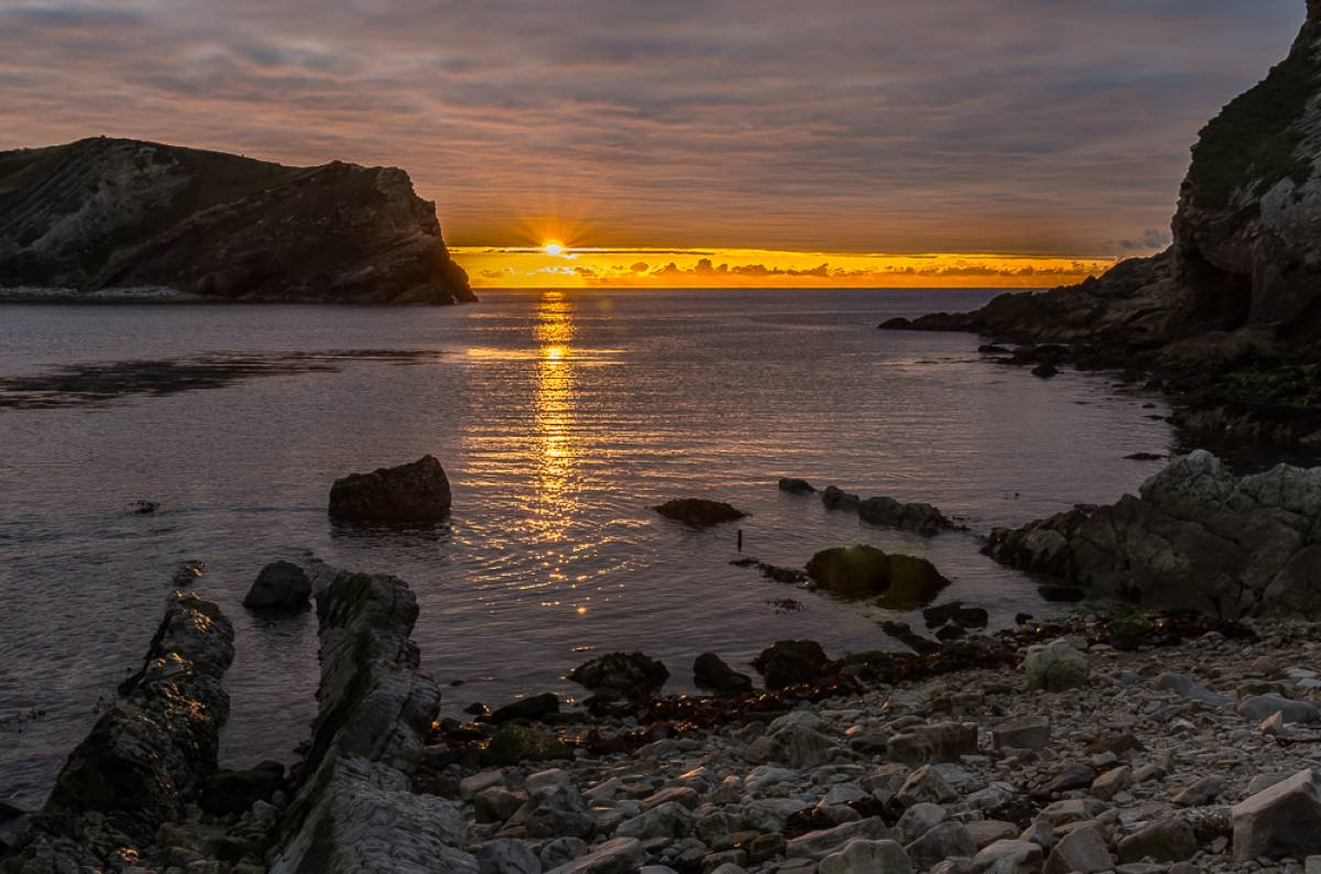 seven reasons why Lulworth Cove is the most romantic place in the world