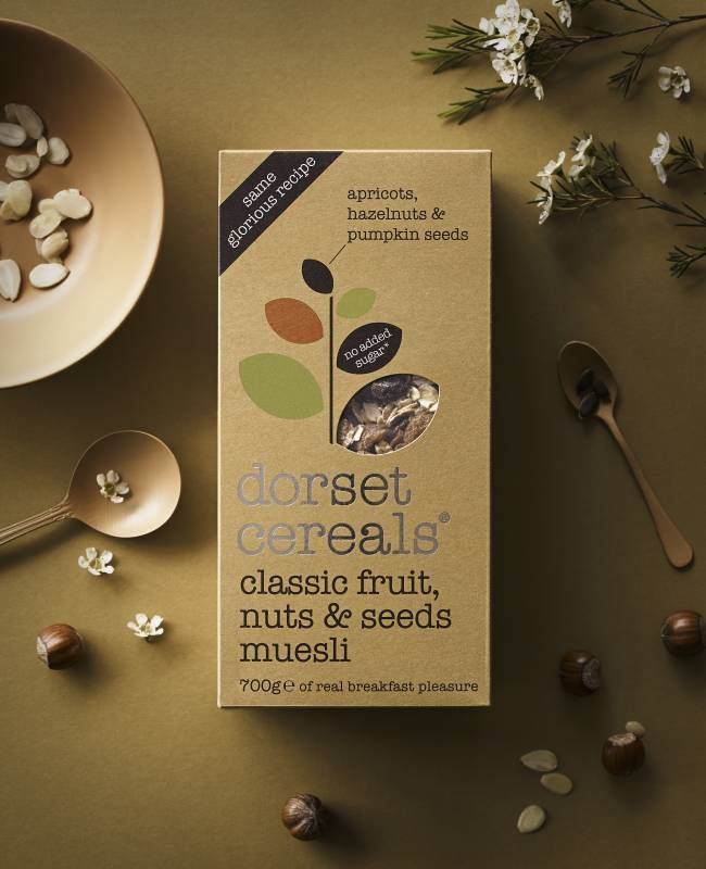 classic fruits, nuts and seeds muesli