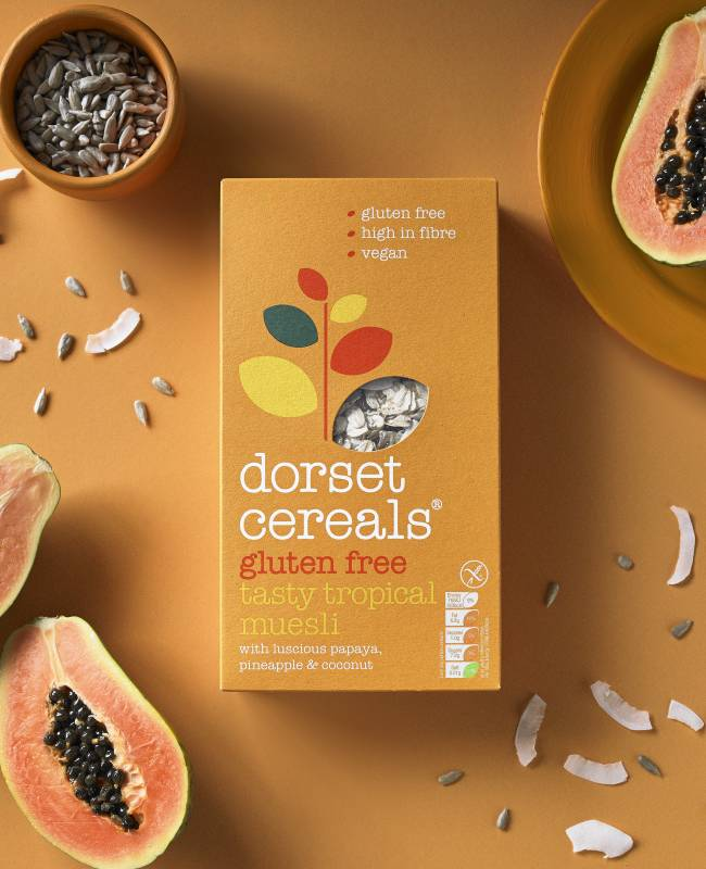 tasty tropical muesli